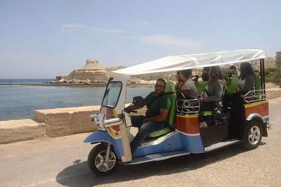 Full Day Gozo Tuk-tuk Tour including Lunch, Ferry and Hotel...