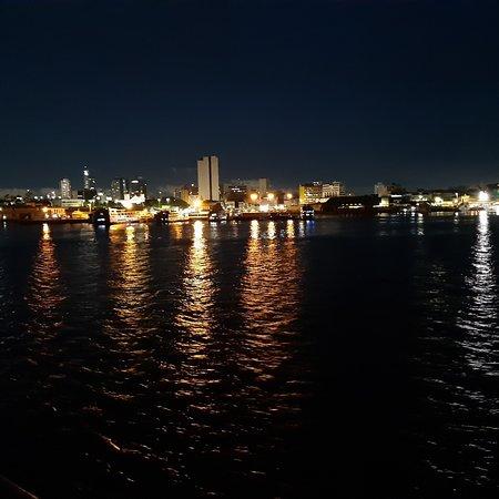 Amazon River, AM: Night sets on at Manaus