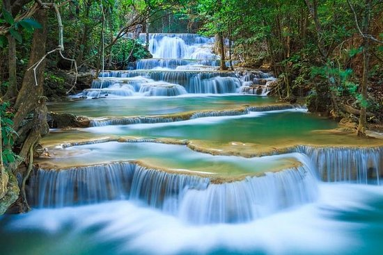 Erawan Waterfalls-Death Railway y River...