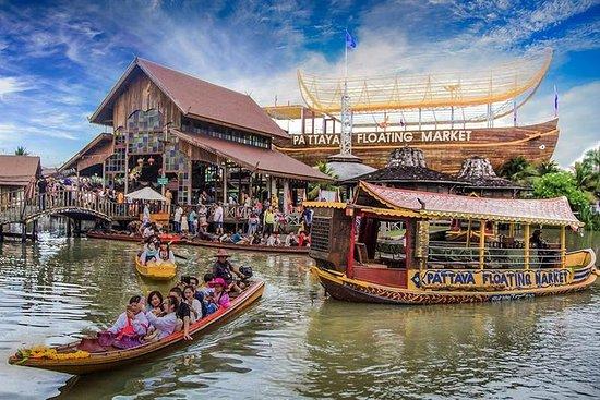 Marché flottant - Pattaya