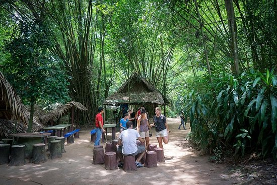 Morning Cu Chi Tunnels Tour from Ho...