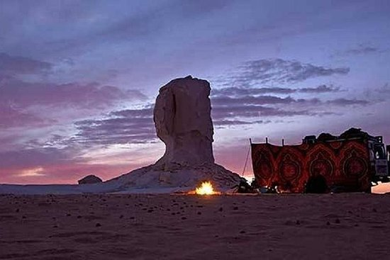 White Desert 2-dages tur fra Hurghada...