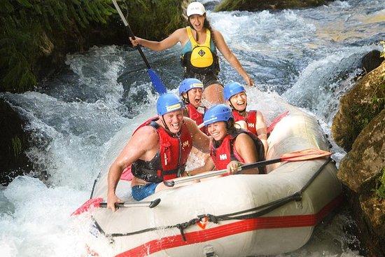 Raften op Cetina River met Cliff ...