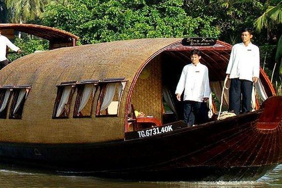 Song Xanh Sampan Mekong Cruise 2 Days 1 Night
