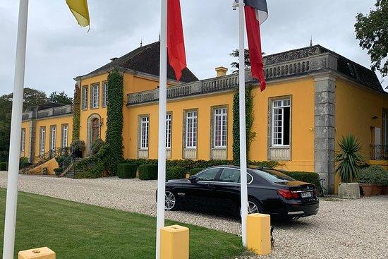 Privat tur og besøk på Medoc Castle Route (Luxury Minivan)