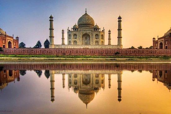 全日泰姬陵和阿格拉游览从德里乘快车