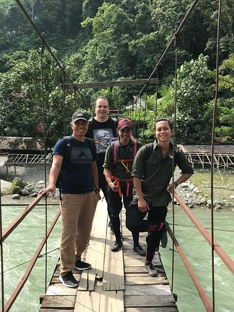 2 Day ECO Jungle Trek into the Gunung Leuser National Park: Das Team und wir