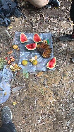 2 Day ECO Jungle Trek into the Gunung Leuser National Park: Die Snacks zwischendurch