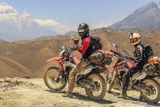 Le plus haut tour du monde en moto au...