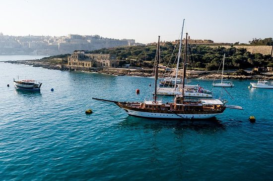 Ganztägige Bootstour rund um Malta