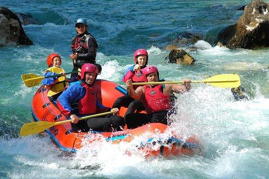 Rafting-Abenteuer auf dem Fluss Soca...