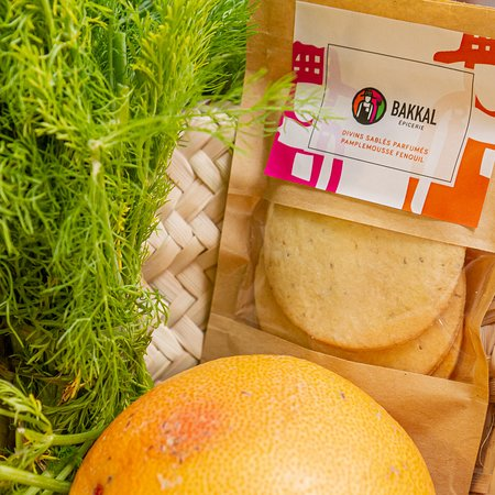 Natural Pomelo and Romarin biscuits