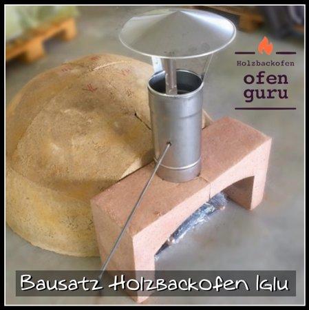 Kirnberg an der Mank, Austria: Bausatz Holzbackofen Iglu