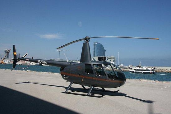Vuelo en helicóptero y Sailing...