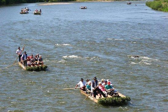 Rafting sul fiume Dunajec, tour regolare per piccoli gruppi da