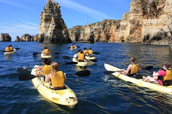 Kayak tour in Lagos to visit the...