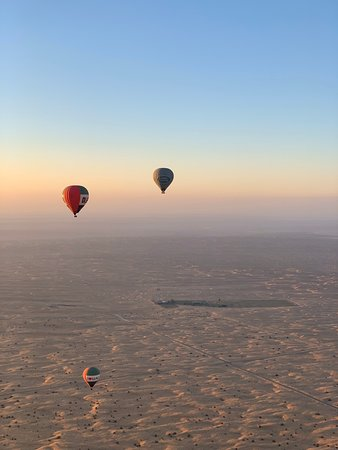 Hot air balloon in dubai .  Was a great time with my family  Our Pilot  Captain Yosh Shigyo he is the best  Recommend