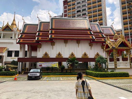 main Thai temple building