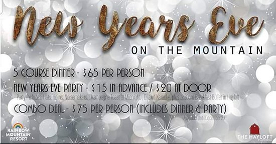 Pocono Mountains Region, Pennsylvanie : Dinner in the Bistro, $65 for a 5 course meal,  Nightclub entry fee $20 at door, $15 in advance/ $75 for the combo of dinner and nightclub entry.
