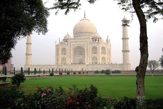 Visite de luxe du Taj Mahal en voiture