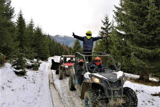RZR BUGGY Day trip in Romania