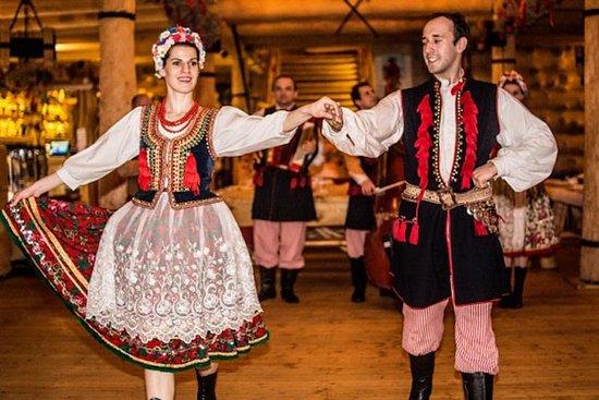 Polnische Folklore-Vorstellung mit...
