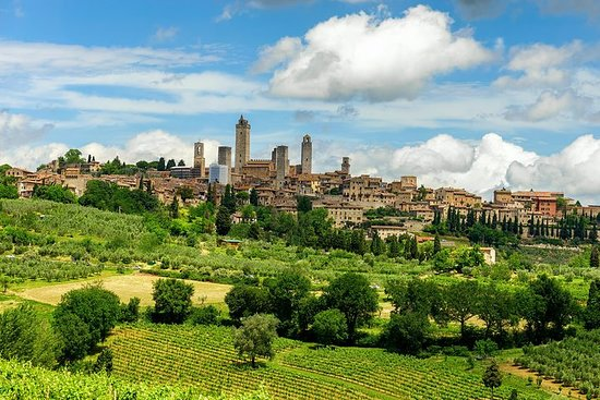 托斯卡納的亮點:錫耶納,聖吉米尼亞諾,基安蒂,比薩和酒莊午餐