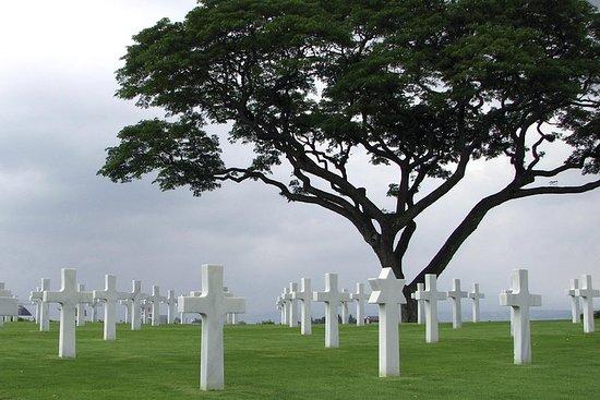 Små gruppe Normandie D-Day slagmarker...