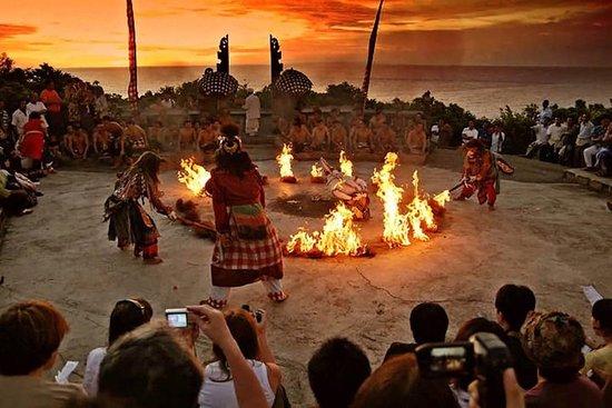 Temple d'Uluwatu avec Danse Kecak...