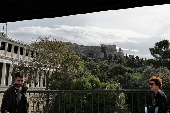View of the Agora