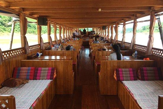 Cruise Mekong-elven fra Houy Xai til Luang Prabang i komfort og...