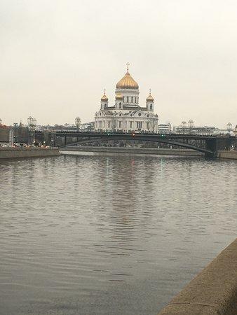 Вид с набережной Москвы реки