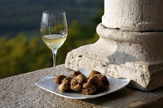 來自的里雅斯特的Istria品嚐體驗的味道