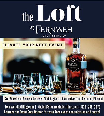 The Loft at Fernweh Distilling Co, is a beautiful, renovated historic venue perfect for events of all types. Most popularly used for rehearsal dinners, birthday parties, business meetings and bachelor parties! Get your free consultation today: theloft@fernwehdistilling.com