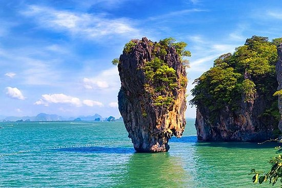 Phang Nga Bay Sunset Premium turfart Bådtur