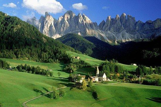 威尼斯的白雲巖山脈和科爾蒂納半私人一日遊