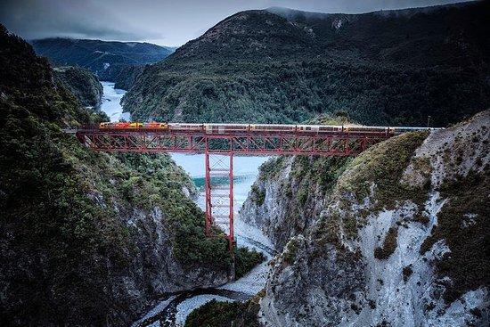 Arthur's Pass Full-Day Tour Includes TranzAlpine Express Train from...