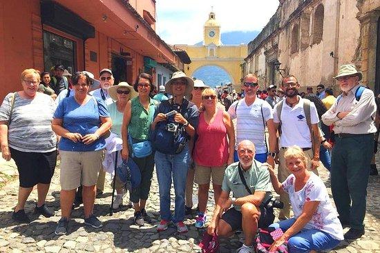 Excursion en bord de mer à Puerto Quetzal: ville coloniale d'Antigua...