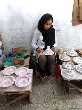 Fez vandretur: Artesana ceramica