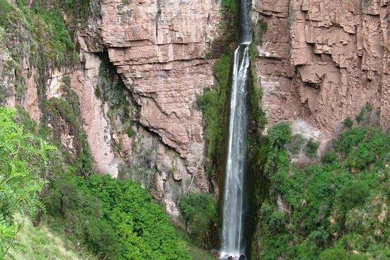从库斯科私人Perolniyoc瀑布和Raqaypata艰苦跋涉