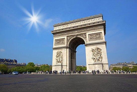 Guidede Paris Dagstur fra London