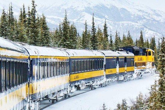 L'Alaska Railroad Aurora Winter...