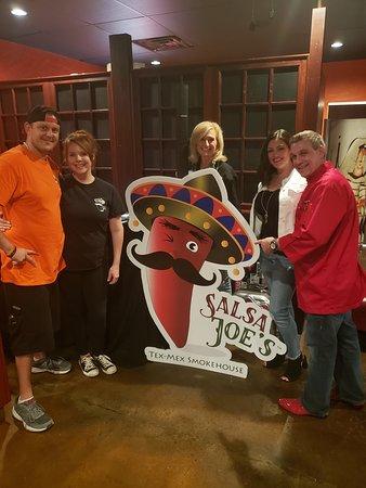 Arlington, TX: Opening Night Salsa Joe's Tex-Mex Smokehouse