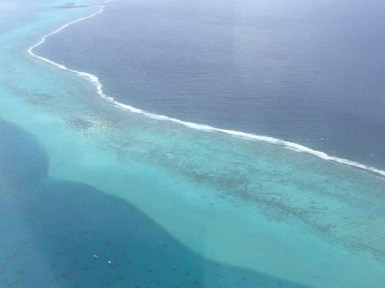 Tahiti Archipel de la Société, Polynésie française  from above