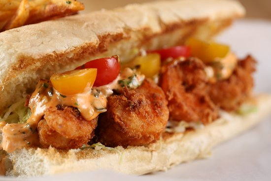 """Lagarde features several Po-Boys including Shrimp, Oyster, """"Shoyster"""" and Debris"""