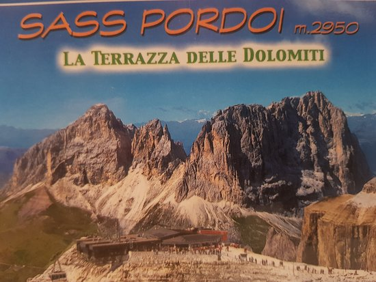 The panorama terrace of the Dolomites.....Refuge Maria....