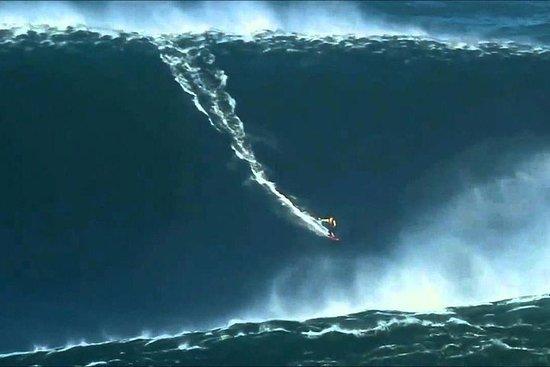 Nazare (Big waves) and Caldas da Rainha Full Day Private Tour