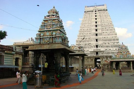 Day trip to Tiruvannamalai Temple and Sri Ramana Ashram from...