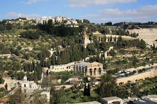 Ciudad Vieja de Jerusalén desde Tel Aviv