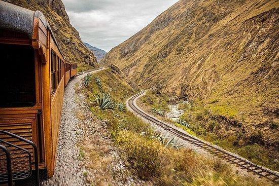 リオバンバからの悪魔の鼻の列車とIngapirca